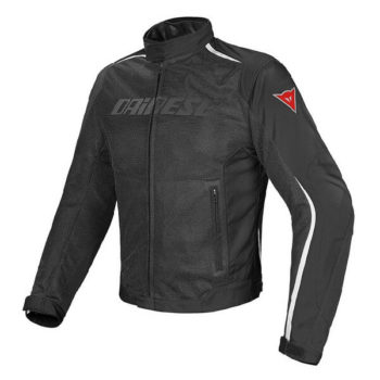 Dainese Hydra Flux D Dry Black White Riding Jacket