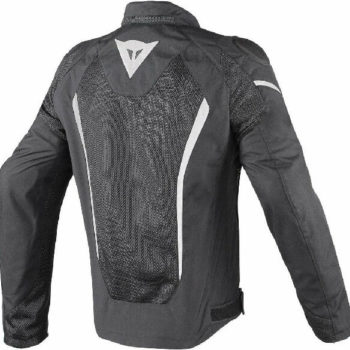 Dainese Hyper Flux D Dry Riding Black White Jacket 1