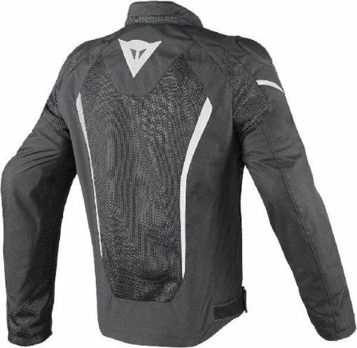 Dainese Hyper Flux D Dry Riding Black White Jacket 1