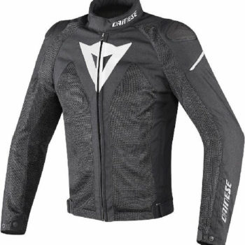 Dainese Hyper Flux D Dry Riding Black White Jacket
