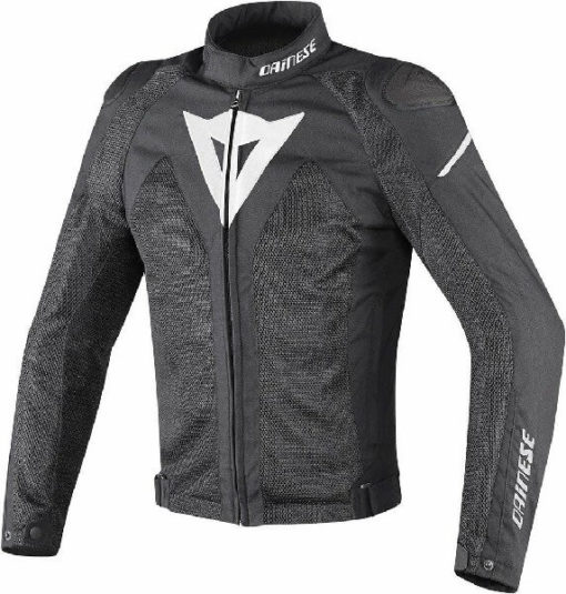 Dainese Hyper Flux D Dry Riding Black White Jacket