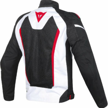 Dainese Hyper Flux D Dry White Black Red Riding Jacket 1