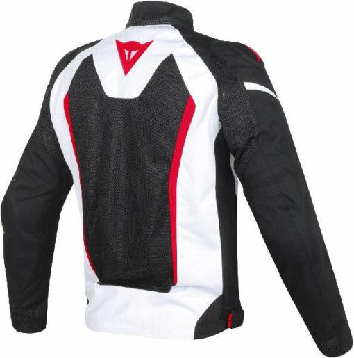 Dainese Hyper Flux D Dry White Black Red Riding Jacket 1