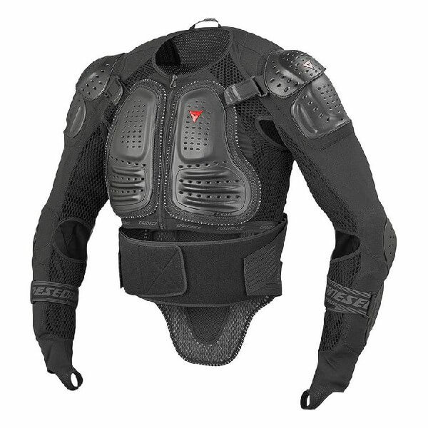 Dainese Light Wave D1 2 Black Riding Jacket