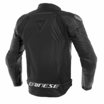 Dainese Racing 3 Perforated Black Leather Riding Jacket 1