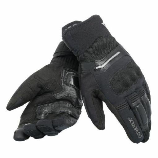 Dainese Solarys Short Goretex Black Riding Gloves
