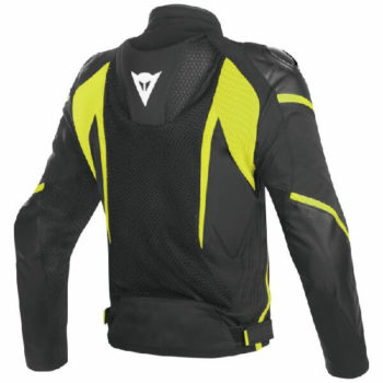Dainese Super Rider D Dry Black Fluorescent Yellow Riding Jacket 1