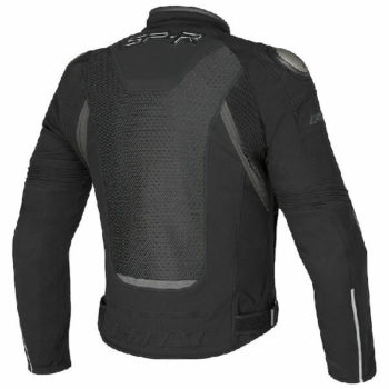 Dainese Super Speed Tex Black Grey Riding Jacket 1