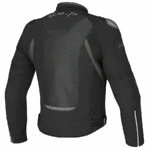 Dainese Super Speed Tex Black Grey Riding Jacket 1