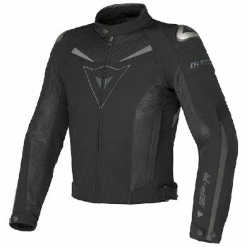 Dainese Super Speed Tex Black Grey Riding Jacket