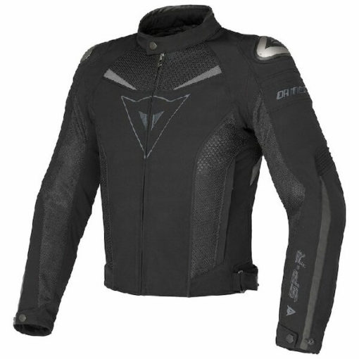 Dainese Super Speed Tex Black Grey Riding Jacket