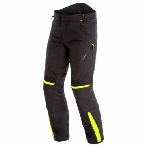 Dainese Tempest 2 D Dry Black Fluorescent Yellow Riding Pants