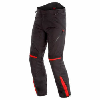 Dainese Tempest 2 D Dry Black Red Riding Pants