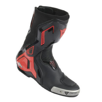 Dainese Torque D1 Out Black Fluorescent Red Riding Boots