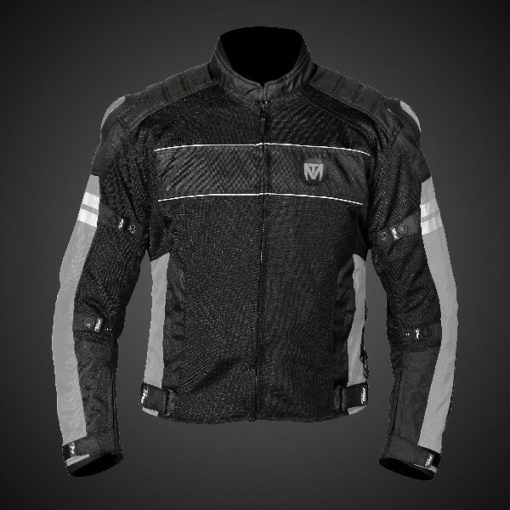 Mototorque Resistor L2 Black Grey Ladies Riding Jacket