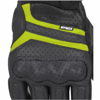 Rynox Air GT Motorsports Black Fluorescent Green Riding Gloves 1
