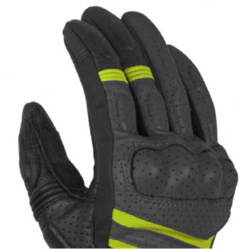 Rynox Air GT Motorsports Black Fluorescent Green Riding Gloves