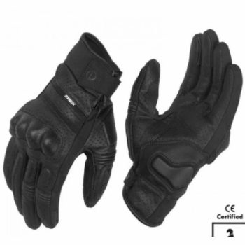 Rynox Air GT Motorsports Black Riding Gloves