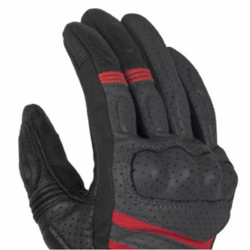 Rynox Air GT Motorsports Grey Red Riding Gloves