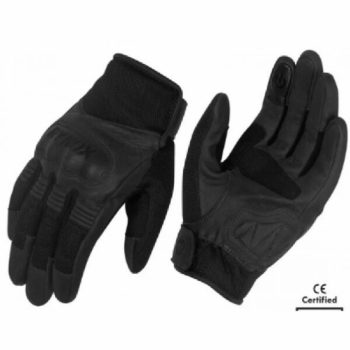 Rynox Urban Motorsports Black Riding Gloves