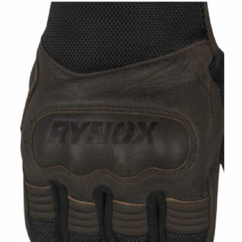 Rynox Urban Motorsports Brown Riding Gloves 1