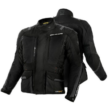 Shima Hero Black Riding Jacket 1