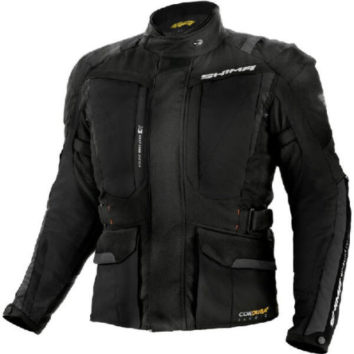 Shima Hero Black Riding Jacket