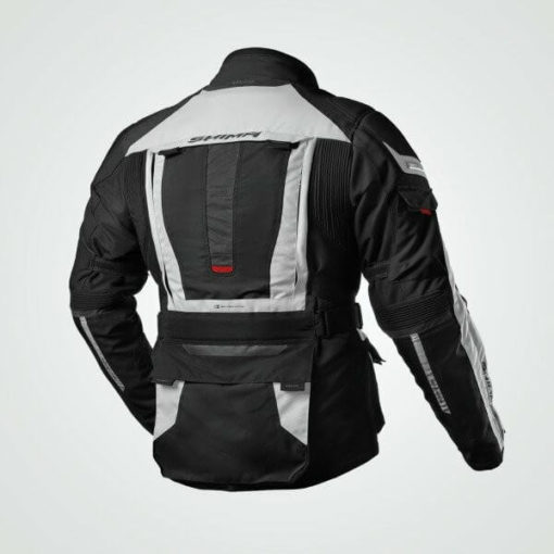 Shima Horizon Black Grey Riding Jacket 1
