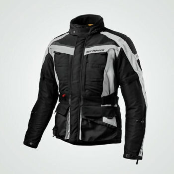 Shima Horizon Black Grey Riding Jacket