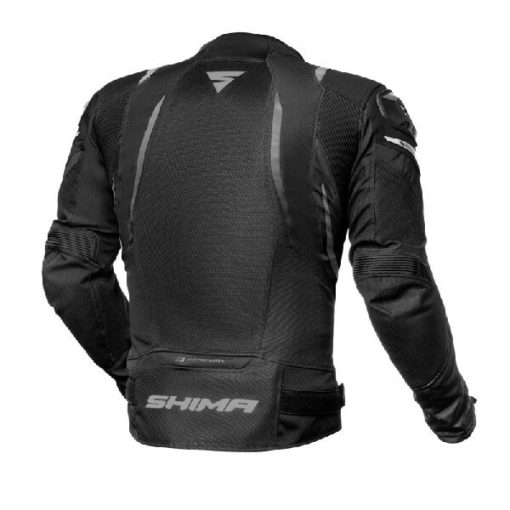 Shima Mesh Pro Black Riding Jacket 1
