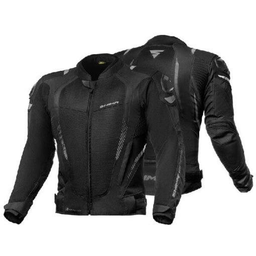 Shima Mesh Pro Black Riding Jacket