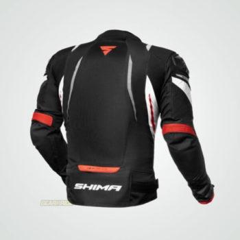 Shima Mesh Pro Red Black Riding Jacket 1