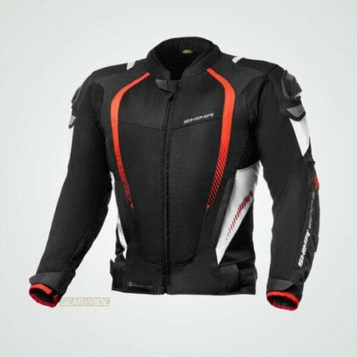 Shima Mesh Pro Red Black Riding Jacket