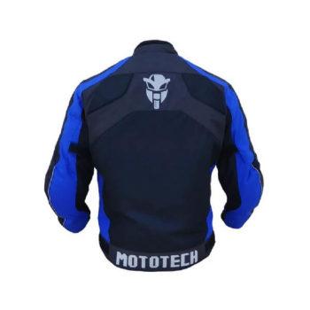 Mototech Scrambler Air Black Blue Motorcycle Jacket 1