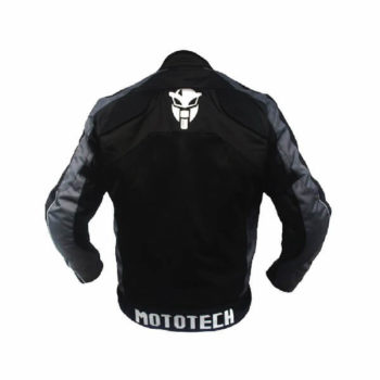 Mototech Scrambler Air Black Grey Motorcycle Jacket 1