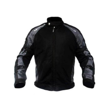 Mototech Scrambler Air Black Grey Motorcycle Jacket