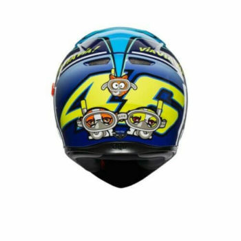 AGV K3 SV Misano 2015 Gloss Blue Yellow Helmet 2020 1