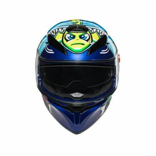 AGV K3 SV Misano 2015 Gloss Blue Yellow Helmet 2020 2