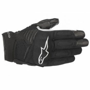 Alpinestars Faster Black White Riding Gloves 2020