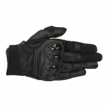 Alpinestars Megawatt Hard Knuckle Black Riding Gloves 2020