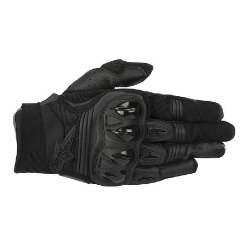 Alpinestars Megawatt Hard Knuckle Black Riding Gloves 2020