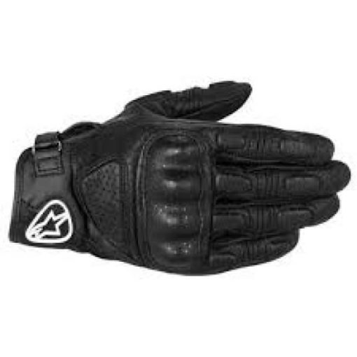 Alpinestars Mustang Black Riding Gloves 2020