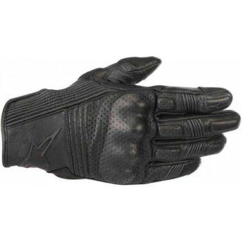 Alpinestars Mustang V2 Black Black Riding Gloves 2020