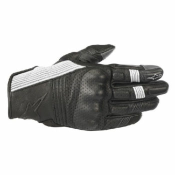 Alpinestars Mustang V2 Black White Riding Gloves 2020