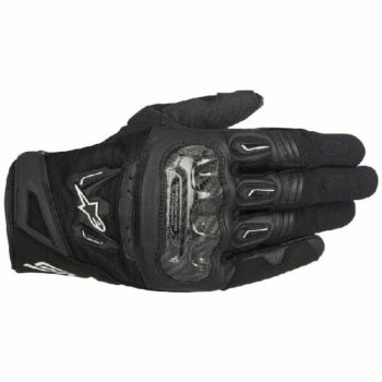 Alpinestars SMX 2 Air Carbon V2 Black Riding Gloves 2020
