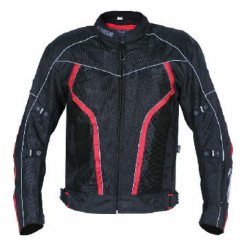 BBG I Ride I Live Black Red Riding Jacket 2020