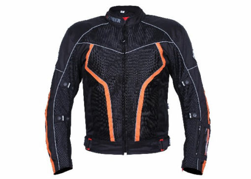 BBG xPlorer Black Orange Riding Jacket 2020 2