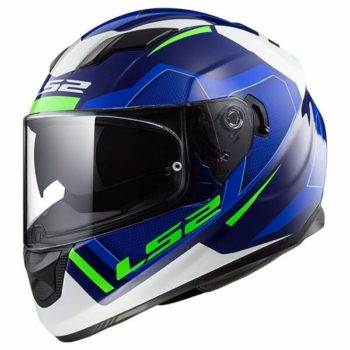 LS2 FF320 Stream Evo Axis Matt Blue White Full Face Helmet