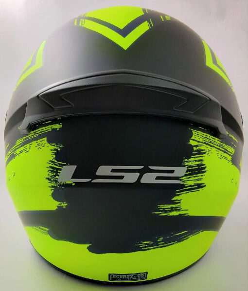 LS2 FF352 Chroma Matt Black Yellow Full Face Helmet 1