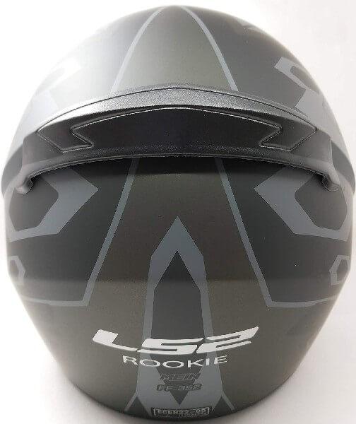 LS2 FF352 Rookie Mein Matt Black Grey Full Face Helmet 1